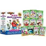 Rock 'N Learn Math & Science 10-DVD Collection $39.99 + FS @ Groupon