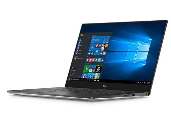 "Dell XPS 15-9550 15.6"" Laptop, 4K Touchscreen $949.99"