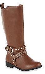 Roebuck & Co. Girls' Bina Brown Riding Boot $15.29