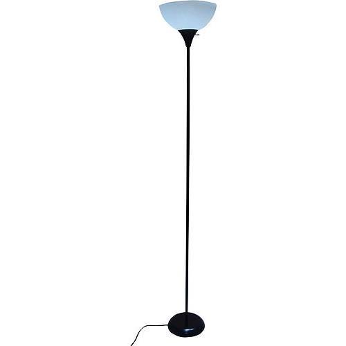 """Mainstays 71"""" Metal Floor Lamp, Black $8.94"""