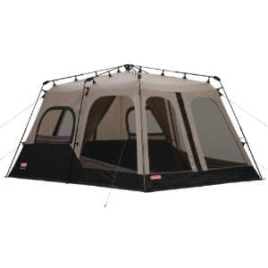 8-Person Coleman Instant Two Room Tent (14' x 10') $130 + Free Shipping