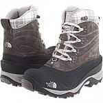 Women's The North Face Chilkat II Boots Dark (Grey/Black, Brown/Red or Ivory/Khaki)