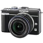 Olympus Pen E-PL1 Micro 4/3 Digital Camera & 14-42mm Lens (Refurbished Black)