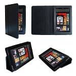 Supcase Kindle Fire PU Leather Folding Cases w/ Stand (Assorted Colors)