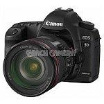 Canon EOS 5D Mark II 21.1MP Full Frame Digital SLR Camera + Canon EF 24-105mm f/4 L IS USM Lens