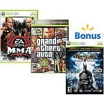 Buy 2 Select Xbox 360 Games Get 1 Free: Lego Harry Potter: Years 1-4, Grand Theft Auto IV, Warhammer 40k: Space Marine, Batman: Arkham Asylum Game of the Year
