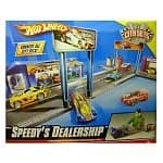 Hot Wheels Speedy's Dealership City Sets Series Playset