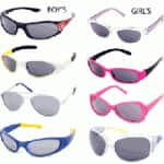 6-Pairs of Boys or Girls Licensed Character Sunglasses for Ages 3-8