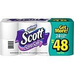 24-Pack of Scott Extra Soft Bath Tissue Double Rolls