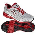 Men's New Balance 890 Running Shoes (Gray/Red MR890RS)