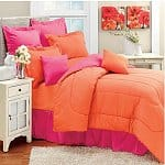 Domestications 50% Off  Clearance Coupon: Colorations Reversible Comforter (Twin or Full $8, Queen $9, King $10), Daybed Set