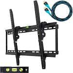 "Cheetah Mounts 32-65"" Tilting TV Wall Mount Bracket (APTMM2B) + HDMI Cable"