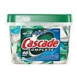 48-ct Cascade Complete All in 1 Dishwasher Pacs