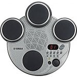 Yamaha Portable Digital Drums Pack with Power Supply (Silver)