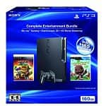 Playstation 3 160GB Black Friday 2011 Bundle: LittleBigPlanet 2 Special Edition and Ratchet & Clank: All 4 One