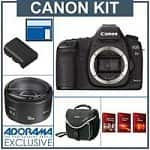 Canon EOS-5D Mark II Digital SLR Camera Body w/ Canon EF 50mm f/1.8 II Lens + SanDisk 16GB Extreme Compact Flash Memory Card + Slinger Camera Bag + Extra Canon Battery