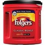 33.9-Ounce Canister of Folgers Classic Roast Coffee