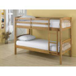 UPDATED! -Essential Home Twin Bunk Beds - Walnut, Pine or White - $121.49 with pick up in store @ Kmart