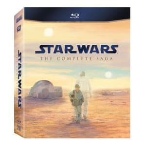 Star Wars: The Complete Saga (Blu-Ray) - $58 shipped AC