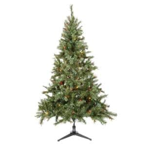 6.5' Home Accents Holiday Pre-Lit Aster Pine Multi-Color Christmas Tree $21, 6.5' Home Accents Holiday Pre-Lit Aster Pine Clear-Color Christmas Tree $21 + Free Shipping