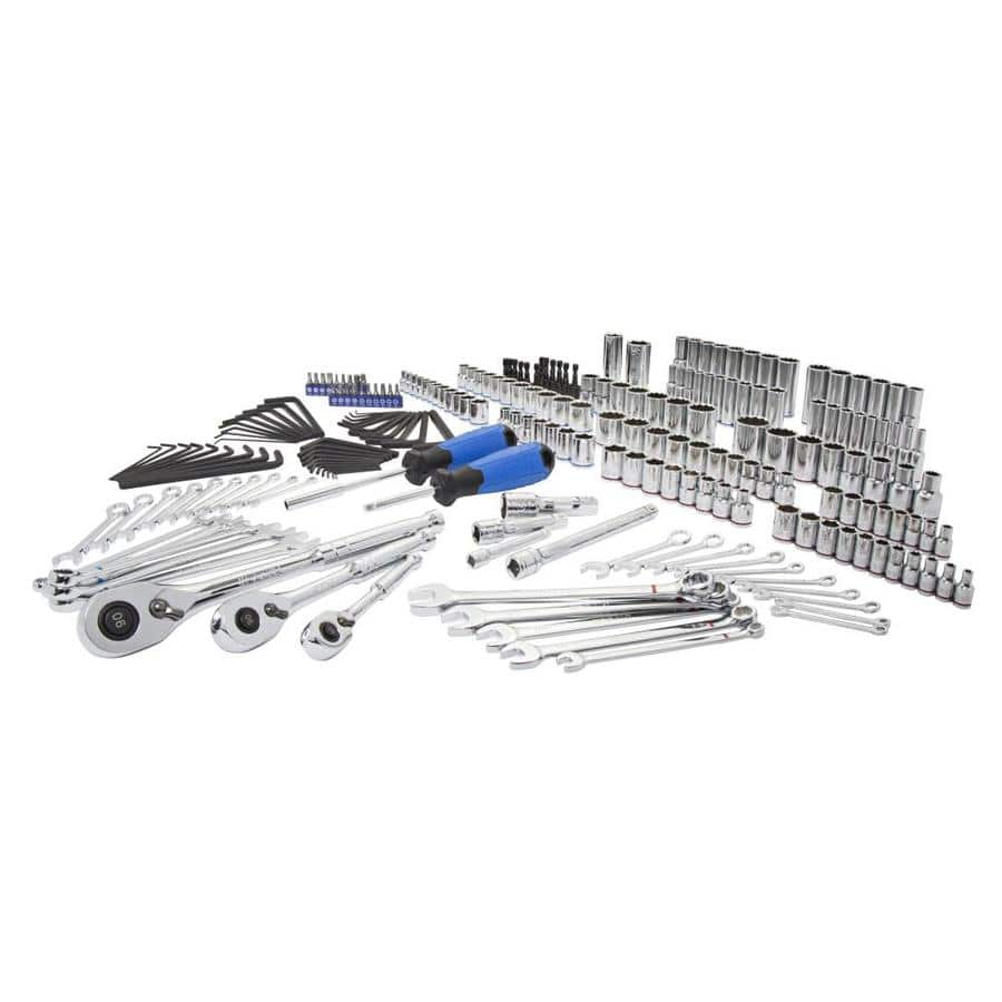 Kobalt 227-Piece Standard (SAE) and Metric Mechanic's Tool Set with Hard Case FS for $99