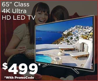 "Silo 65"" Class (64.5"" Actual Diagonal Size) V2 Series Ultra HD TV $479"