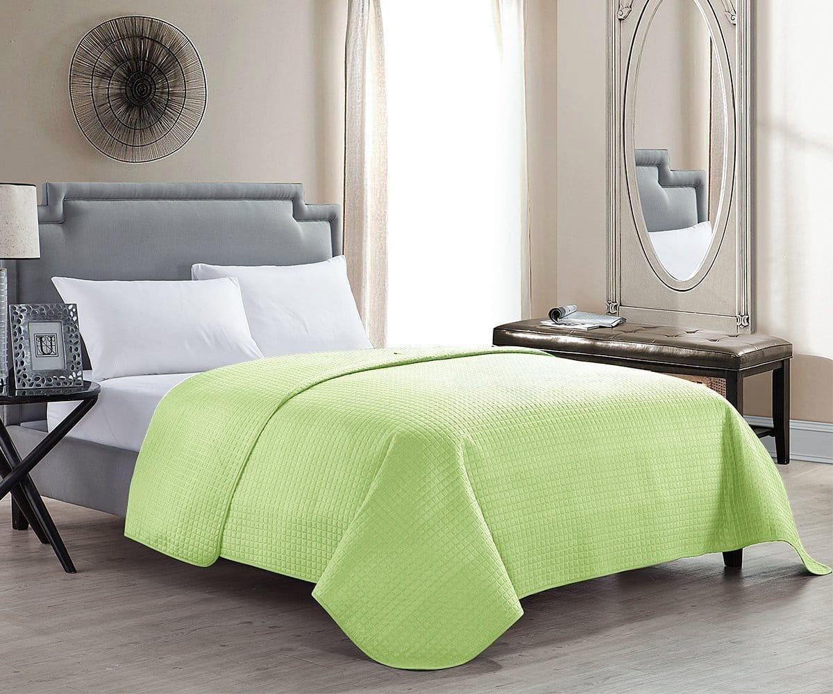 Hollyhome Solid Color Bed Quilt For Twin 10 35 Full Queen 11 25 King 12 60 Size