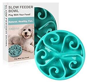 $8.72 for NON SLIP VERSION Slow Feeder Dog Bowl @ Amazon