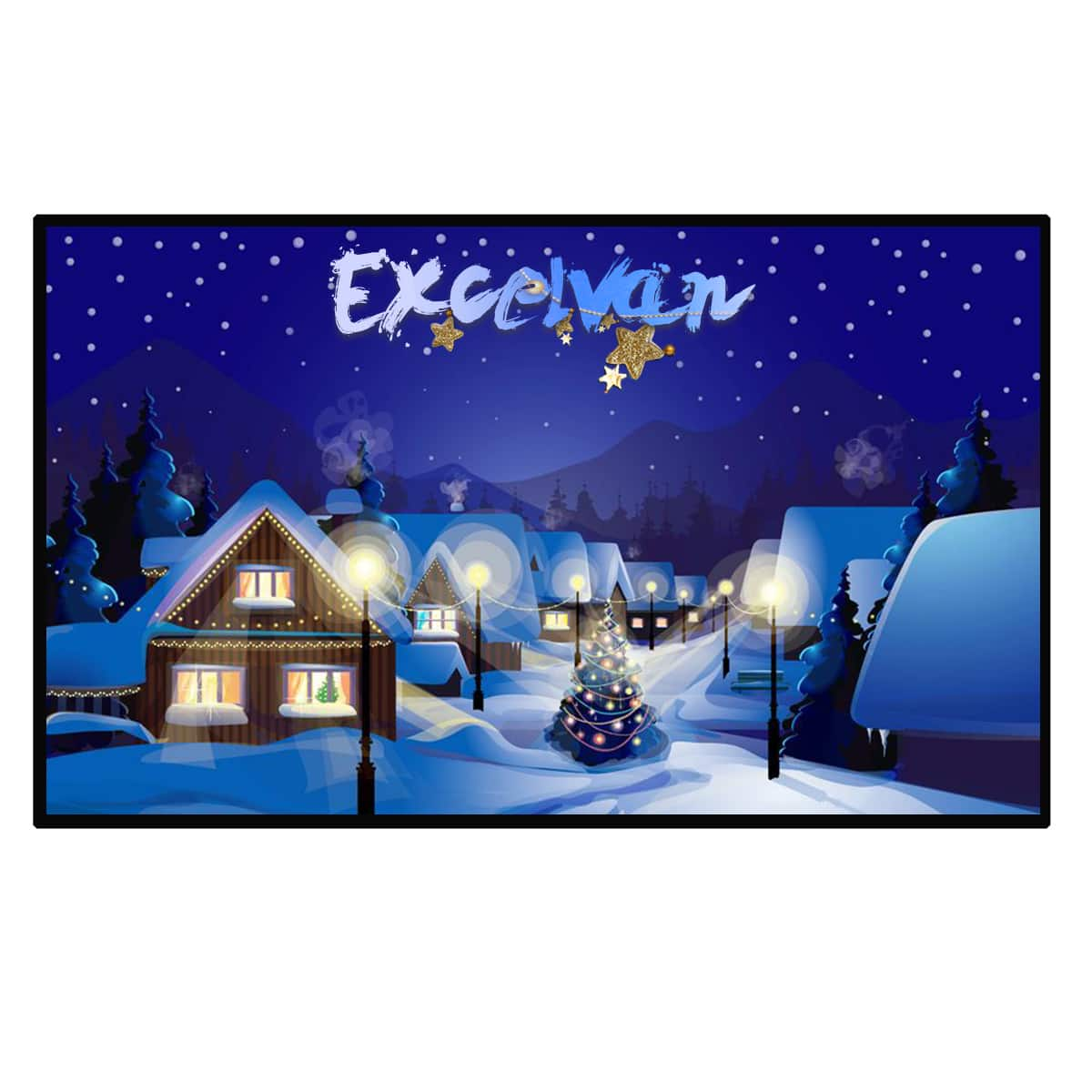 120 Inch 16:9 Portable Home Cinema Projector Screen PVC Fabric $27.99 @ Amazon