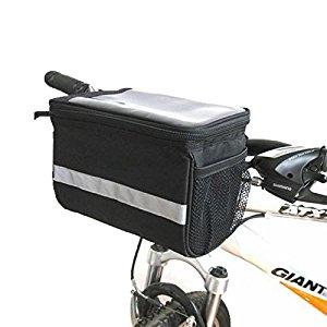 Onedayshop 3.5 L Lagre Capacity Waterproof Bike Bicycle Front Frame Tube Handlebar Bag $8.39 FS w/ Amazon Prime