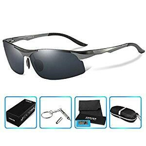COSVER 8003 Men's Sports Style Polarized Sunglasses for Driving Fishing Golf Glasses $11.99 FS w/ Amazon Prime