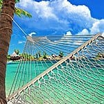 """12% Off SueSport 59"""" Rope Double Hammock with Spreader Bars Cotton $38.7AC + FS with Amazon Prime"""