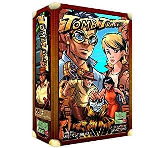 Level 99 Games Tomb Trader Board Game $ 14.26 + FS with Prime
