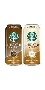 Starbucks Doubleshot Energy Coffee Can Variety Pack, 15 Fl Oz(pack of 12) $14.95 After 15% S&S