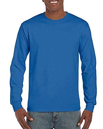 d9a8c3d7c Amazon Gildan Men's Ultra Cotton Adult Long Sleeve T-Shirt, 2-Pack ...