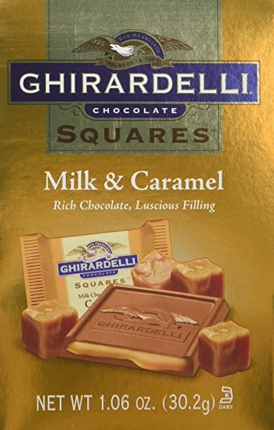 Ghirardelli Milk & Caramel Squares Bag, 24 Count, X-Small $5.60 (Add-On)