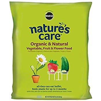 Miracle-Gro Nature's Care Organic and Natural Vegetable, Fruit and Flower Food ( 8 lbs ) $5.35 (Add-On)