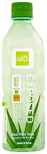 ALO Exposed Aloe Vera Juice Drink, Original + Honey, 16.9 Ounce (Pack of 12) $8.33 (Add-On)