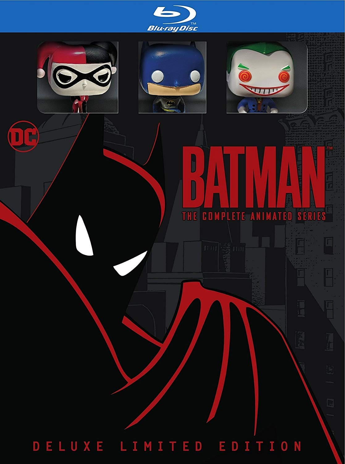 Batman the complete animated series blu ray deluxe le pre order deal image fandeluxe Image collections