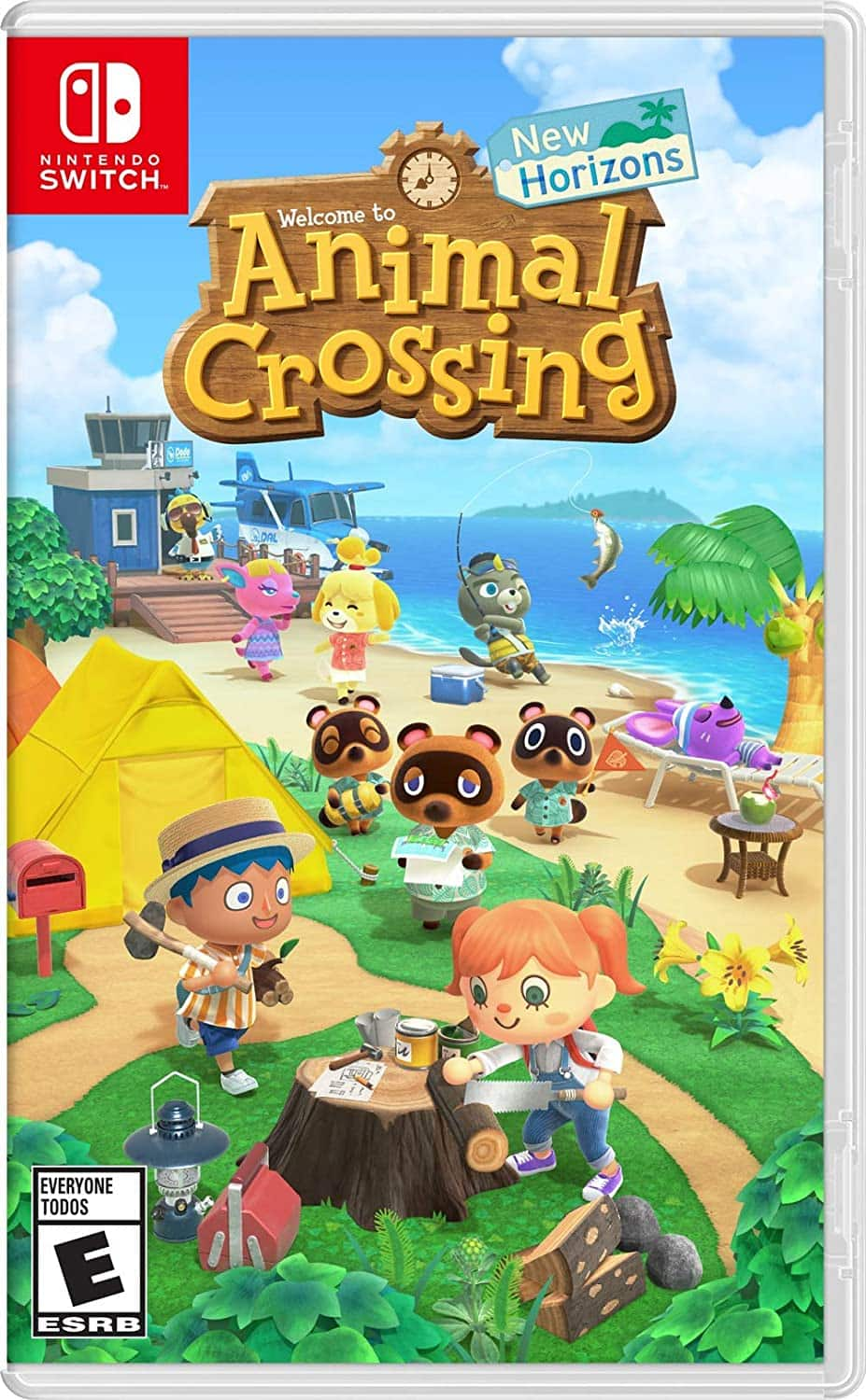 Animal Crossing New Horizons - Nintendo Switch Physical copy $50 at Amazon