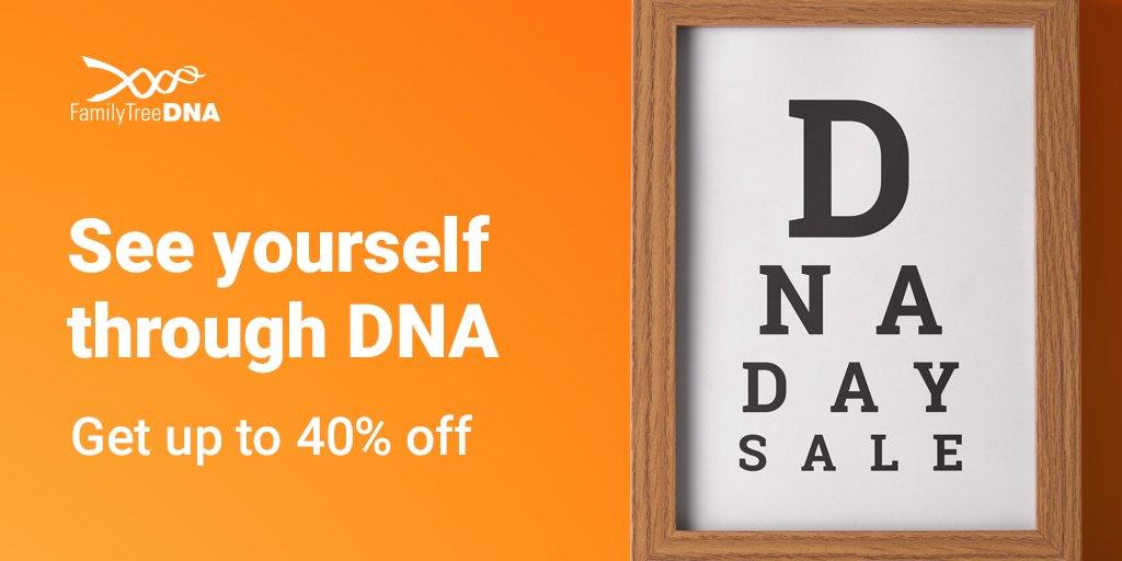 DNA Ancestry Test: up to 40% off at FamilyTreeDNA.com (Ends 4/28/18)