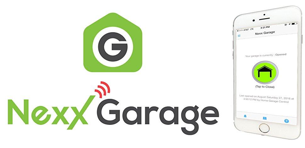 NEXX Garage Door Opener - Works w/Alexa Google - Lightning Deal