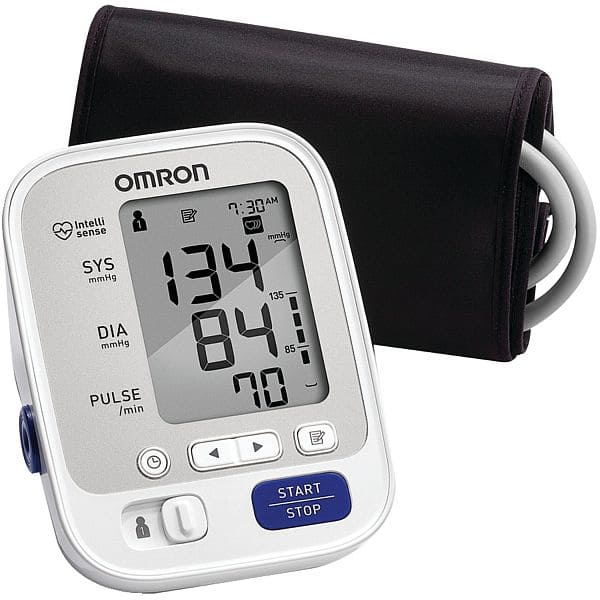 Omron BP742N 5 Series Upper Arm Blood Pressure Monitor Amazon $33.57 Free Prime shipping