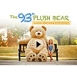 93'' Plush Bear - Coming November 2014 Heads Up - Costco