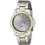 Seiko Men's SNE098 Two-Tone Stainless Steel Watch for $55.65 @amazon