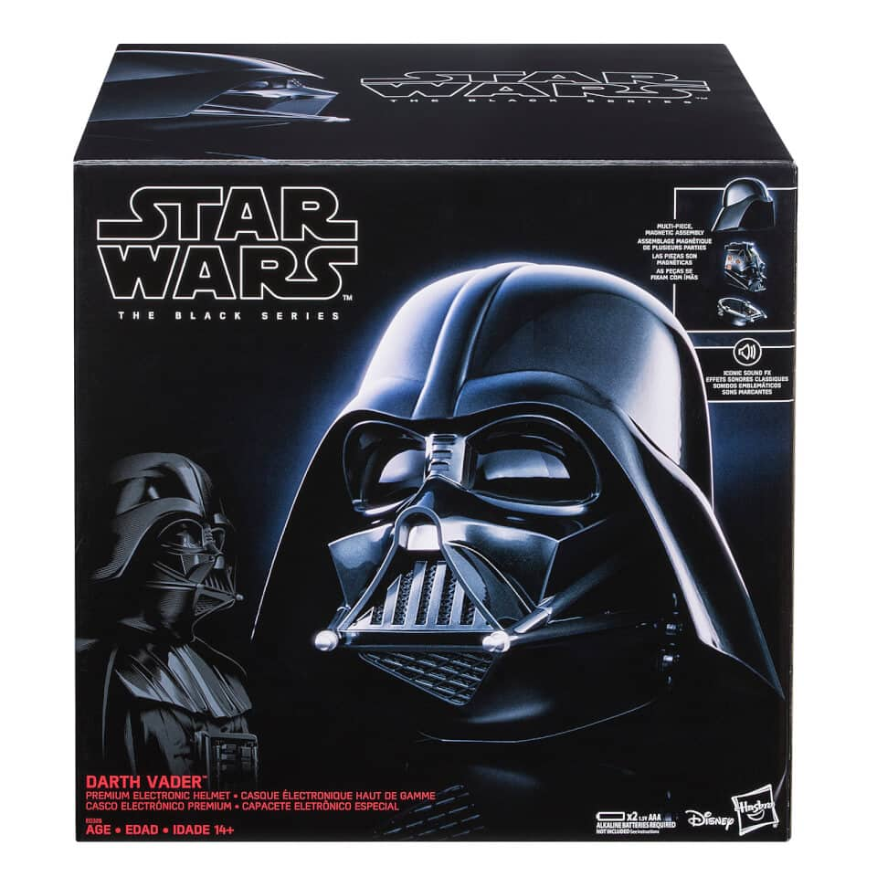 Star Wars Black Series Helmets: Darth Vader and First Order Storm Trooper $99 each - Pre Order $99.99