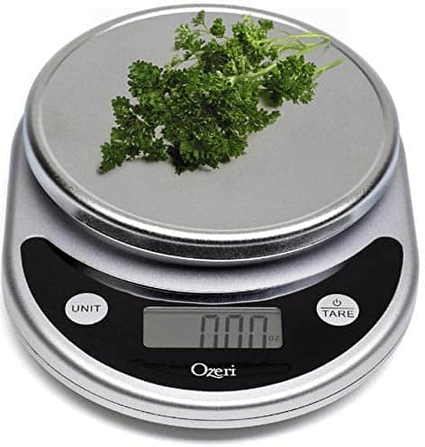 Ozeri ZK14-S Pronto Digital Multifunction Kitchen and Food Scale $11.5