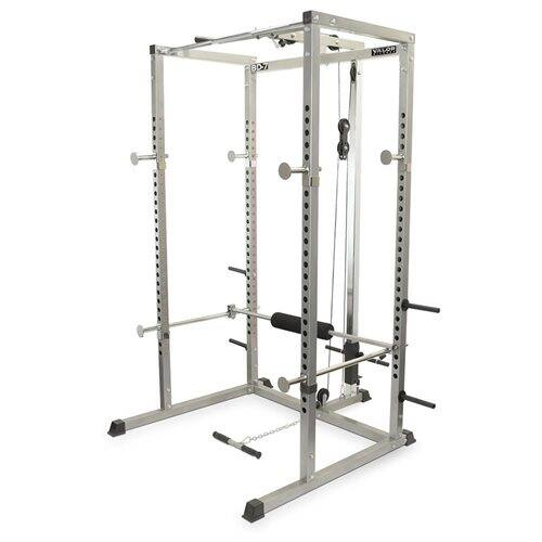 Valor BD-7 Power Rack with Lat Pull Attachment for $369.99 + Free Shipping