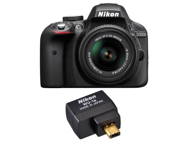 Nikon D3300 Digital SLR Camera (Refurbished) and 18-55mm VR II Lens Kit $295 w/ Masterpass Checkout + Free S&H