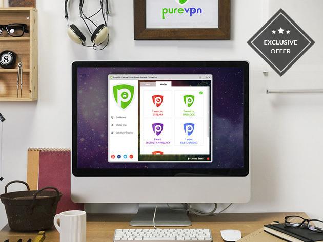 PureVPN: Lifetime Subscription - $75.65